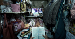 COMMUNISM – THE GLORY OF DEMOCRATS: life inside the 'coffin cubicles' of Hong Kong – in pictures…