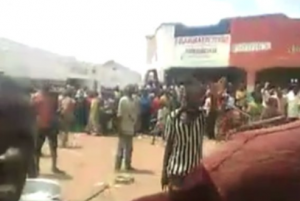 AFRICAN SAVAGES: Crowd cheers as woman raped, beaten and decapitated for serving 'forbidden fish'…