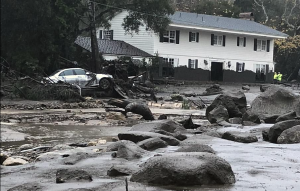 The Wrath of God Continues To Hit CA: Thirteen dead as mudslides hit California celebrity enclave…