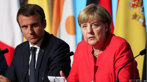 KING TRUMP vs. GLOBAL PUPPETEERS: Merkel could join Macron in Davos for epic clash with Trump…