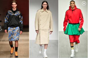 AMERICAN MEN OF SODOM: Are skirts the next men's fashion trend?