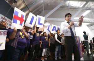 CRIMINAL CA: Kevin de León wins endorsement of California Democrats in rebuke of Dianne Feinstein…