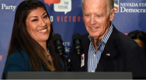 Politician claims Joe Biden made her feel 'gross' with sleazy kiss…