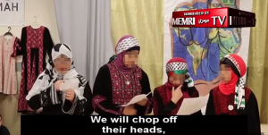 PA: Video shows Muslim children in a Philadelphia school singing about 'chopping off heads' and martyrdom.