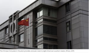 Chinese consulate in Houston ordered to close by US.