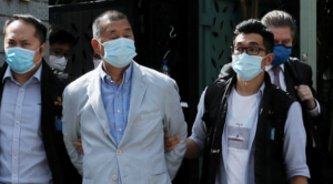 Hong Kong media tycoon Jimmy Lai arrested under new national security law.