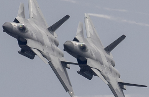 China unveils two-seater design for stealth plane based on J-20 fighter.
