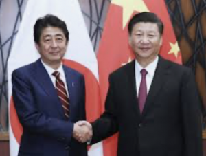 Japan's Prime Minister Shinzo Abe 'set to resign'after a prolonged battle with a chronic illness. (He wants no part of a possible China, Russia vs. US war)
