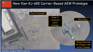 First Image Of China's New Carrier-Based AEW Plane.