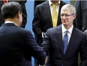 Read Apple's commitment to freedom of expression that doesn't mention China.
