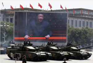 Chinese military calls US biggest threat to world peace.
