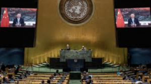 China accuses U.S. at U.N. of trying to take world back to 'jungle age'.