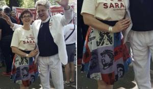 Likely Next Mayor of Portland, Sarah Iannarone, Proudly Wears Chairman Mao Skirt.
