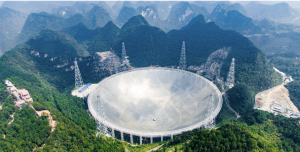 China now holds the world's last giant, single-dish telescope after the Arecibo Observatory radio telescope collapsed.