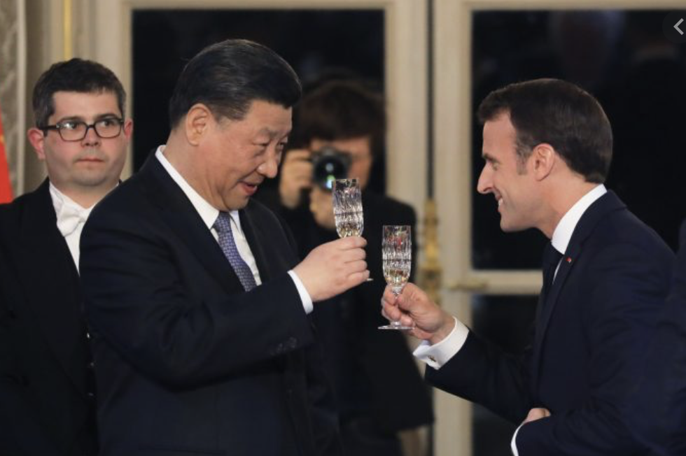 European Traitors: China overtakes U.S. as Europe's main trading partner for the first time