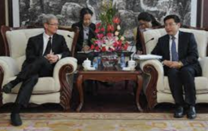 How Apple, Tim Cook give into China while pushing back against the US.