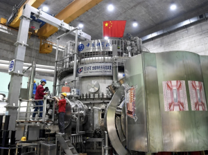 Chinese 'artificial sun' hits new mark in fusion energy mission.