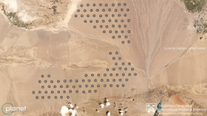 Satellite images expose China's nuclear push, show Beijing building silos to hold over 100 ICMBs in Gobi desert.