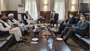 Taliban Leader Meets Chinese Envoy In Kabul, Discusses Bilateral Issues.