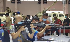 China's new assault rifles, machine guns debut at Zhuhai airshow